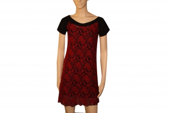 LACE DRESS WOOL