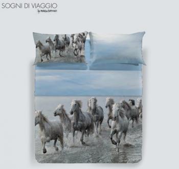 COMPLETO LENZUOLA WILD HORSE