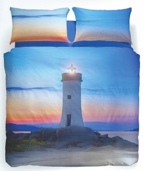 LIGHTHOUSE BEDSPREAD CALEFFI