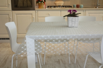 TABLECLOTH LACE STAR