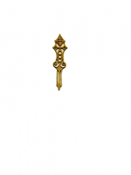Embroided Gold Ear-Ring  CAC