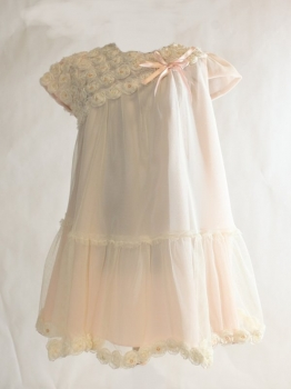 Safer Baby Dress with roses.