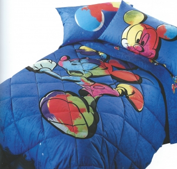 QUILT Caleffi MICKEY COLORS