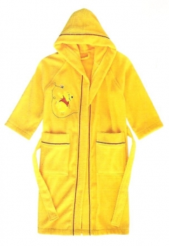 Walt Disney Sponge Bathrobe Pooh Fantasia