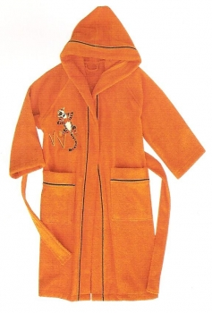 Walt Disney Sponge Bathrobe Happy Tigger