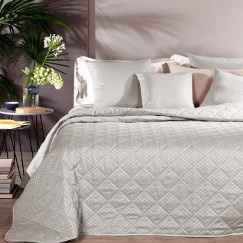 copriletto primaverile home in raso jacquard