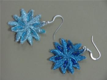 Orecchini Macramè Azzurri