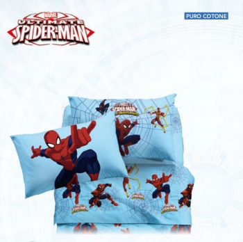 COMPLETO LENZUOLA SPIDER-MAN WARRIORS